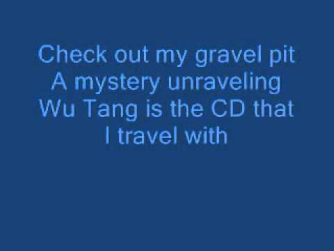 WuTang Clan  Gravel pit Lyrics