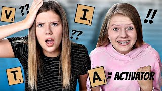 Making Slime in Alphabetical Order Challenge || Taylor & Vanessa