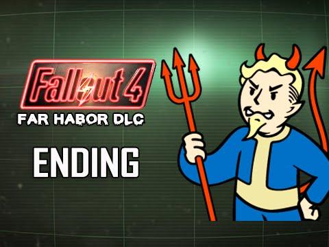 Fallout 4 Far Harbor DLC Walkthrough Part 17 - Bad Karma Ending (PC Ultra Let's Play)