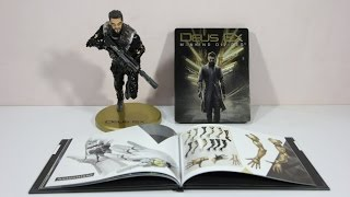 deus ex mankind divided collectors edition unboxing