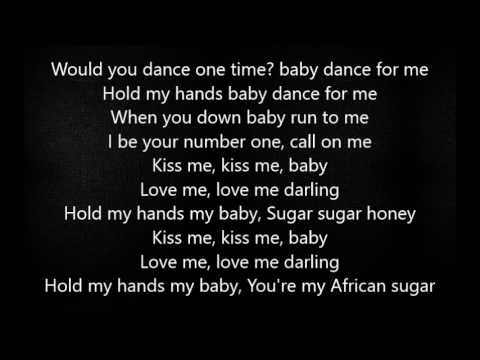 Reekado Banks- Kiss Me (Lyrics)!!