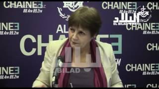 نورية بن غبريط / وزيرة التربية الوطنية  * el bilad tv *