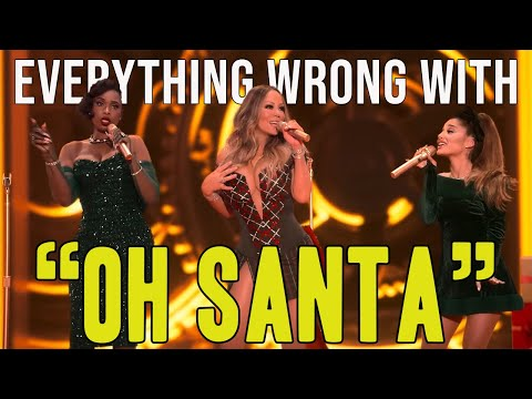 "Everything Wrong With Mariah Carey, feat Ariana Grande, Jennifer Hudson – ""Oh Santa!"""