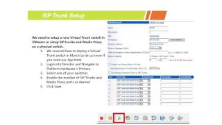 How to Setup SIP Trunks in ShoreTel Director
