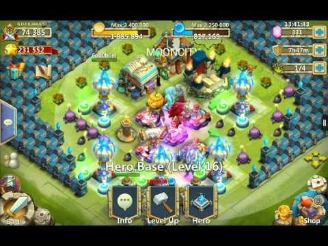 Castle Clash Best Drop For Expert Dungeon 6-5
