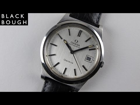 Steel Omega Genève Ref. 166.0168 vintage wristwatch, circa 1973
