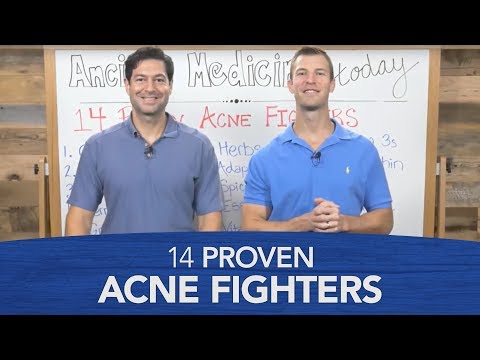 14 Proven Acne Fighters