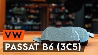 Kuinka vaihtaa etu jarrupalat VW PASSAT B6 (3C5) -merkkiseen autoon [AUTODOC -OHJEVIDEO]