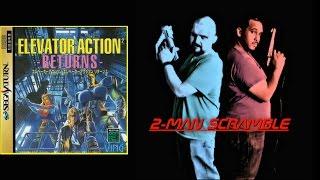 2-Man Scramble - Elevator Action Returns (Saturn/JP)