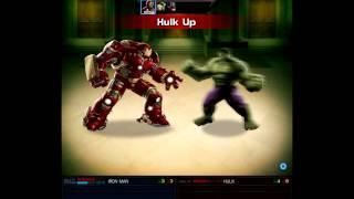 Iron Man Hulkbuster vs Hulk SPEC OPS MAA Marvel Avengers Alliance