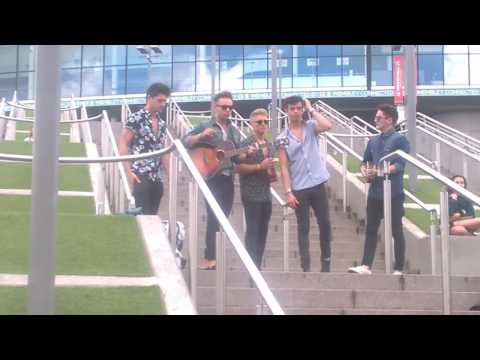 Unknown Auditionees at X Factor 2015 Six Chair Challenge (Rehearsal)