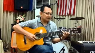 Cara Memetik Gitar Akustik Irama Slow Rock