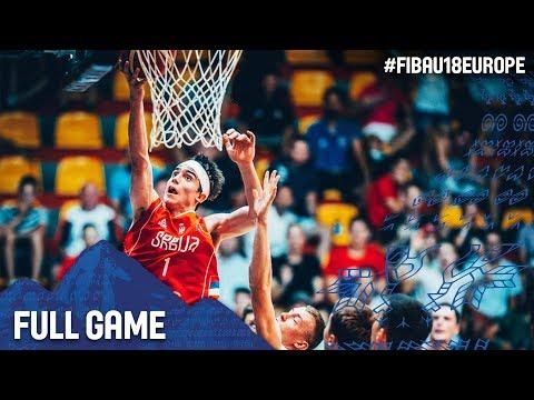 Lithuania v Serbia - Full Game - Semi-Final - FIBA U18 European Championship 2017