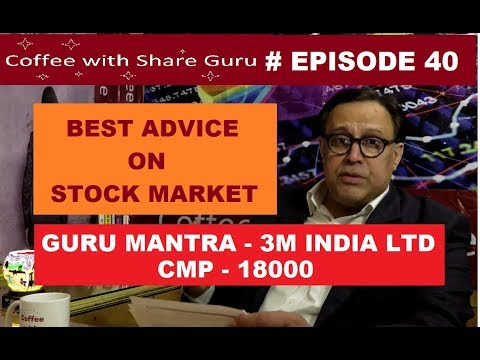 Advice on Stock Market - Q&A - GURU MANTRA | HINDI | Coffee with Share Guru - S1 EPISODE- 40