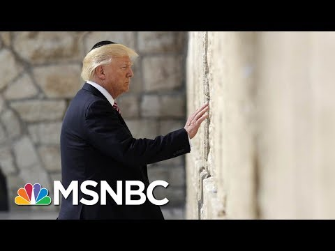 President Donald Trump Announce That The U.S. Will Recognize Jerusalem As Capital Of Israel | MSNBC