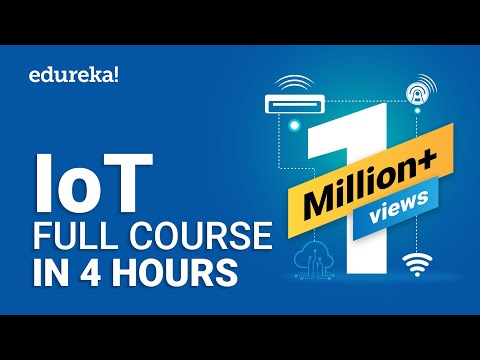 IoT Full Course - Learn IoT In 4 Hours   Internet Of Things   IoT Tutorial For Beginners   Edureka