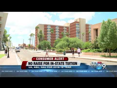 Presidents of ASU, UA, NAU to release tuition proposals