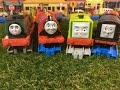 4 different Fisher Price Thomas and friends Motorized Train  (03952 z)
