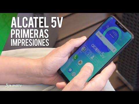 Alcatel 5V, Primeras Impresiones: DISEÑO, NOTCH y DOBLE CÁMARA para la GAMA MEDIA