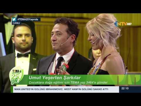 TEMA VAKFI 25. YIL ÖZEL YAYIN/UMUT YEŞERTEN ŞARKILAR/NTV Bölüm #3