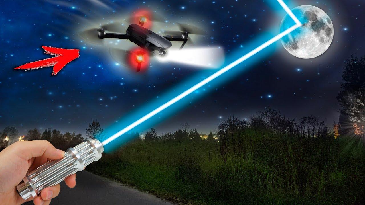 MENCAPAI BULAN DENGAN LASER KUAT 10.000 MIL-2 DAN MELUNCURKAN DRONE DENGAN TERMAL IMAGER!