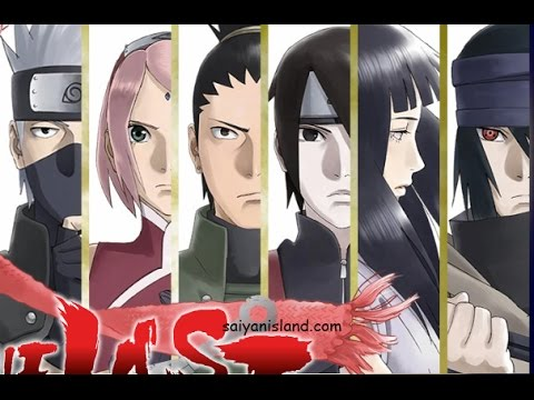 The last Naruto the Movie character design