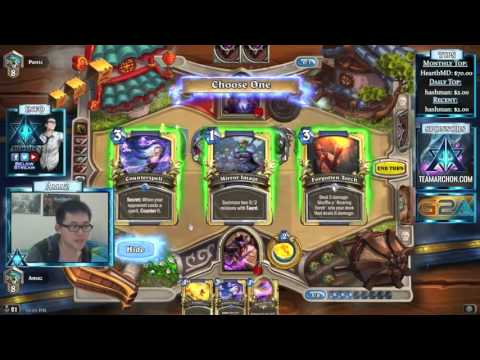 Hearthstone Amaz Playing Casino Mage (6.12.15)