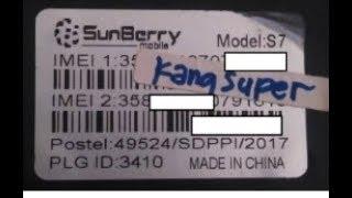 Cara Flash Sunberry S7 via Flash Tool