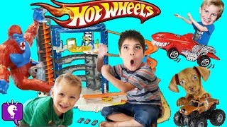 Hot Wheels SUPER ULTIMATE Motorized Toy Garage Review