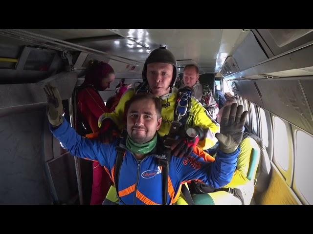 4000 над землёй 🛩️🪂 Прыжок @mishaikon с парашютом в ДЗ Пущино