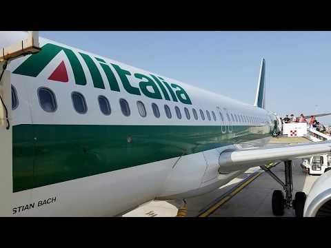 Vuelo AZ 478 de Alitalia de Roma a Budapest - A320 I-BIKA - 02/07/2018