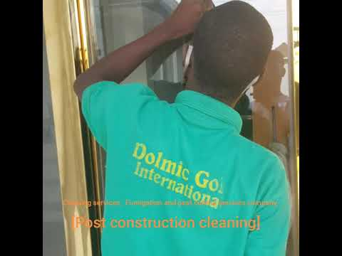 Cleaning services company in Lagos, post construction cleaning in Nigeria