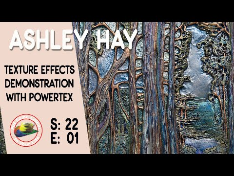 How To Make Texture In Your Painting With Ashley Hay | Colour In Your Life