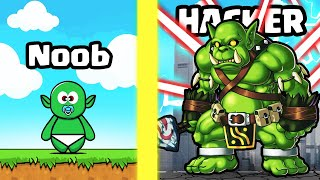 GROWING the STRONGEST ORC MONSTER in Planet Rampage
