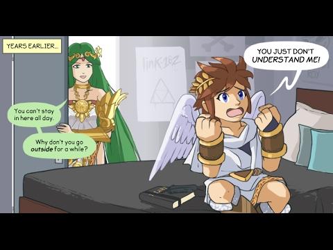 Pit of Despair - Smash Bros / Kid Icarus Comic Dub