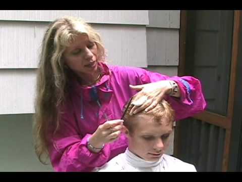 My Step By Step Haircut For A Child Boy Or Man Part 1 Easy Hair
