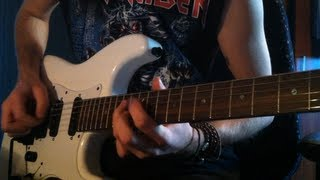Iron Maiden - Stranger In A Strange Land (Cover) Jackson Adrian Smith SDX