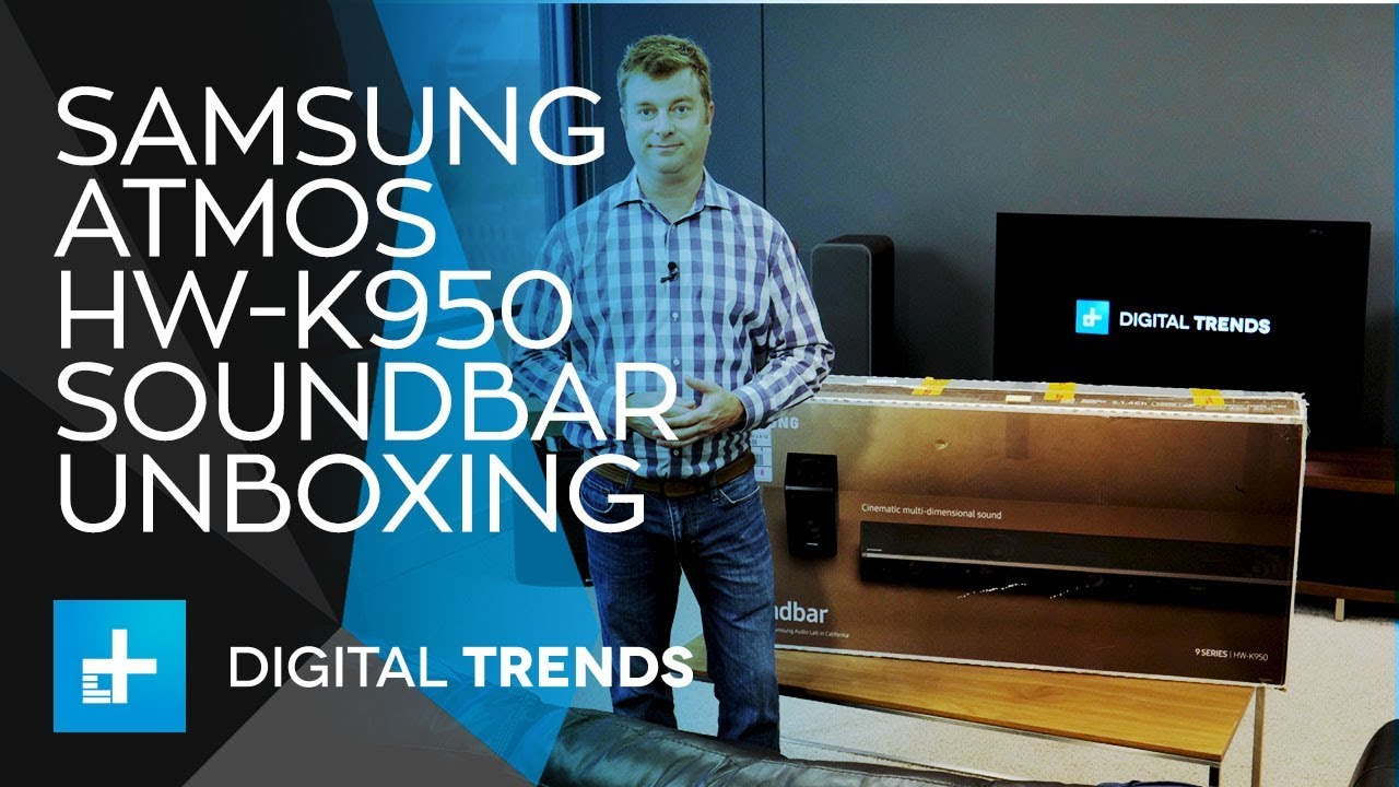 Samsung Atmos HW-K950 Soundbar - Unboxing and Setup