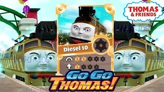 Thomas & Friends: Go Go Thomas! Diesel 10 Evolved Super GOLDEN Racer Unlock All Engines #25