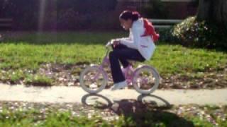 Bike ride with Elmo