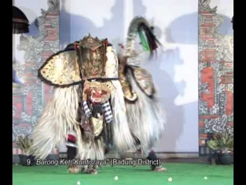 Three genres of traditional dance in Bali