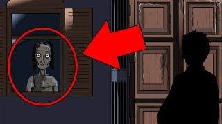 He delivered food to a creepy house in the middle of nowhere... (SCARY HORROR ANIMATION!)