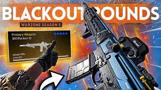 I tried the M13 BLACKOUT ROUNDS in Warzone and they SHRED EVERYONE!