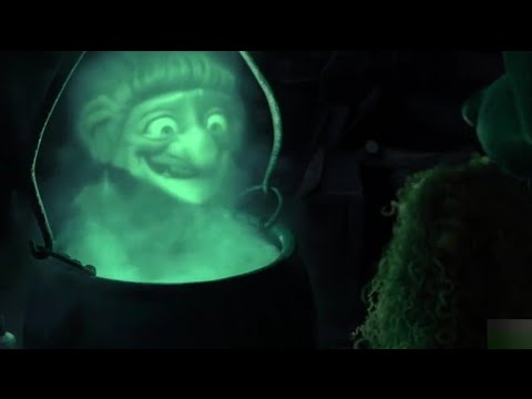 Download Merida found the Witch's house - Brave   hindi