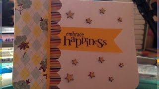 Embrace Happiness مع خوله:صنع بطاقة