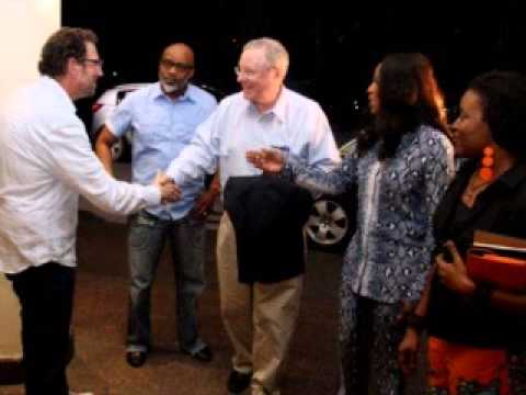 Steve Forbes Arrives Nigeria for EbonyLife TV launch Photos)