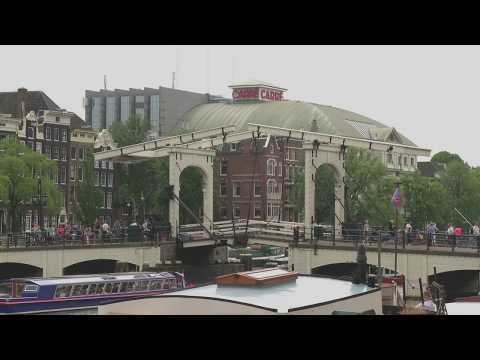 Magere Brug Bridge | Carre Theater | Amsterdam Tourism