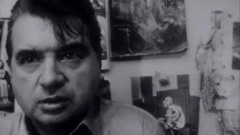 Francis Bacon, peintre anglais (1964)