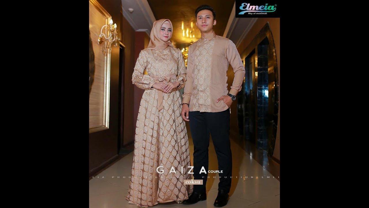 Trend Baju Lebaran 2018 Elegan Modern Baju Muslim - YouTube 0028e8a448