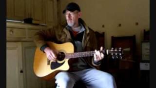 Blues guitar - Cocaine Blues - Rev Gary Davis cover